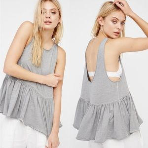 Free People We The Free Cantina peplum tank